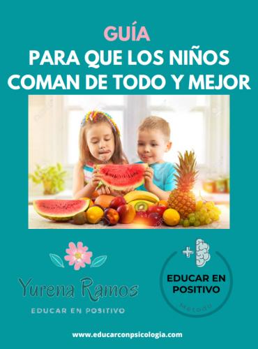 Guía Alimentación Educar con Psicología - Yurena Ramos